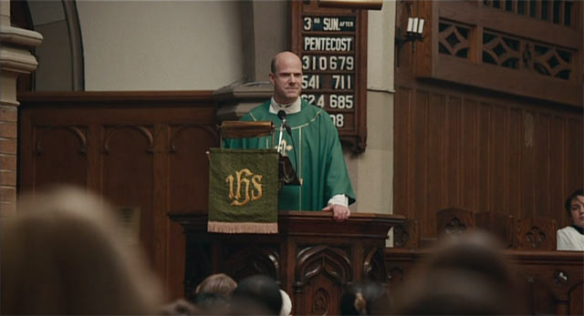 壇上の牧師