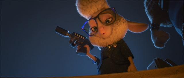 銃を持つダウン・ベルウェザー副市長