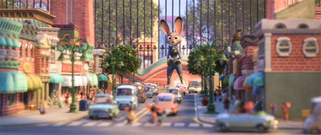 ネズミの町
