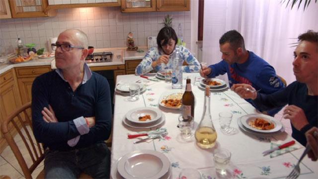 イタリアの昼食休憩
