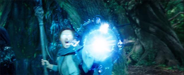 魔法を使っているカドガー
