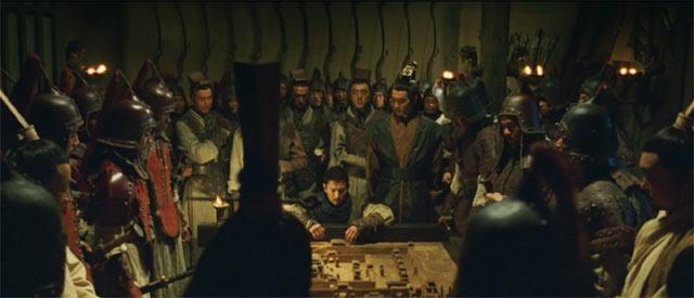 軍事会議、中央に革離(かくり)