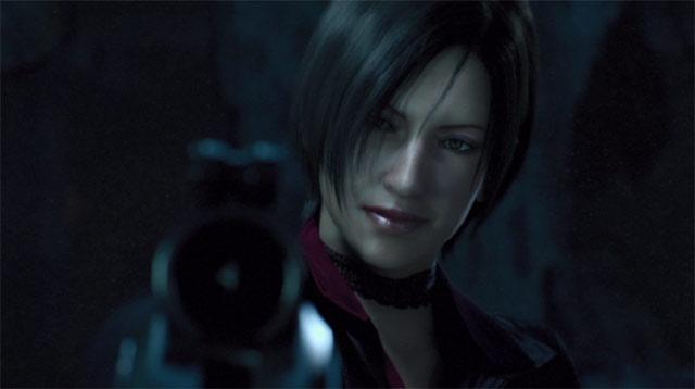銃を構えるエイダ・ウォン