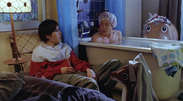 探偵はBARにいる 風呂のシーン