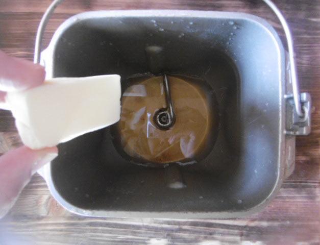 5.バターを入れる