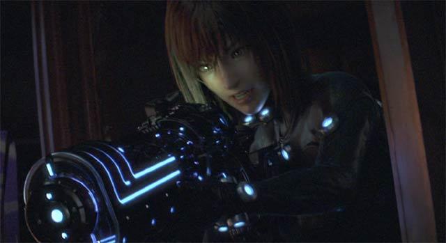 Xガン-ライフル(仮名)を構える杏1