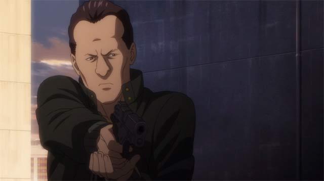 銃を構えるパズ