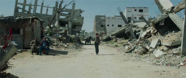 廃墟と化したパレスチナ