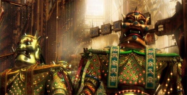 中国風の神輿