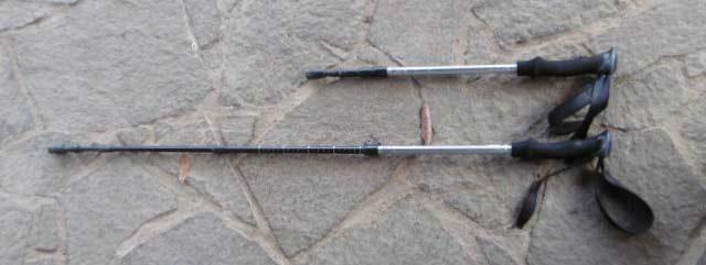 HAWK GEAR(ホークギア) 超軽量アルミ トレッキングポール